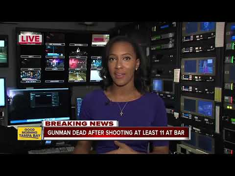 At least 11 people shot, including deputy, in California nightclub mass shooting