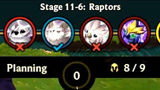 How many STAGES can TFT game have?