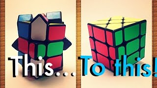 Easiest tutorial to solve the FISHER CUBE!