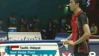 2006 Asian Games MSF Taufik Hidayat vs Lin Dan