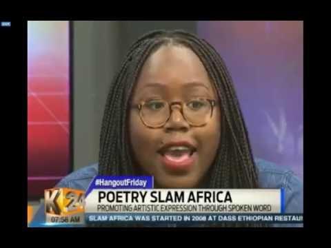K24 Interview - Poetry Slam Africa