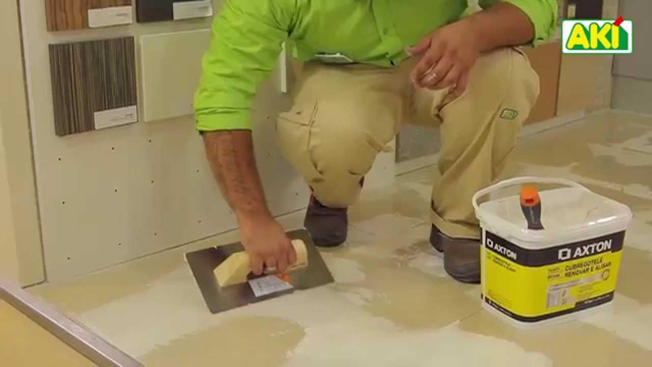 Saiba como como aplicar pavimento vinílico autocolante - YouTube