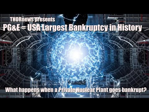 PG&E = 3rd Largest Bankruptcy. What happens to their private Nuclear Power Plants?