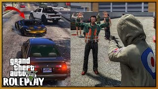 GTA 5 Roleplay - Gifting Free Lamborghini but We Robbed Them Instead | RedlineRP #753