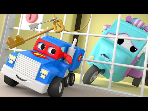 The MINI Truck - Carl the Super Truck in Car City Video for Children with Trucks and Cars