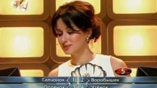 """Анна Михайловская в программе """"Самые умные и красивые"""""""