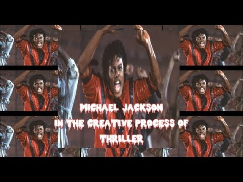 Michael Jackson In the Creative process of THRILLER