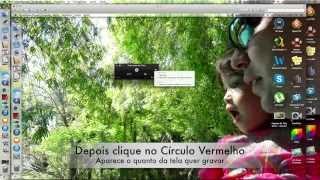 Gravar Tela do Mac com Quick Time