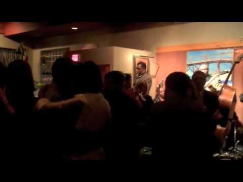 Live jazz and dancing at Irregardless Cafe in Raleigh, North Carolina