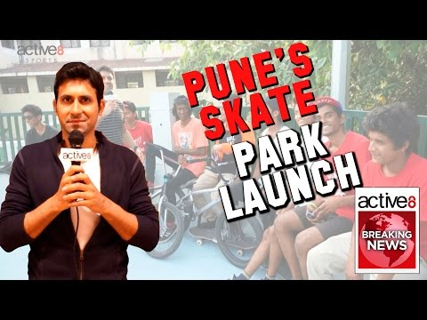 Active8 Sports News - Pune's Skate Park Launch