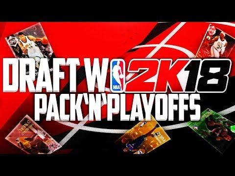 Gramy w DRAFT NBA. Lepsze od FIFY? ► NBA 2K18 MyTeam Pack and Playoffs #03