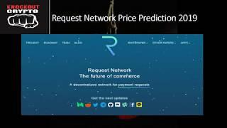 Request Network Price Prediction 2019