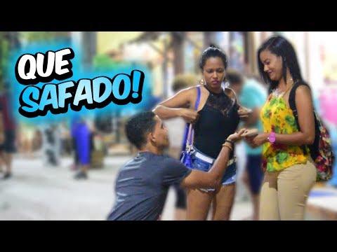 PEDIDO DE NAMORO COM CAMISINHA - PEGADINHA DO TOBA #20