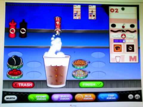 """""""Papa's freezeria"""" เกมทำอาหารสุดน่ารัก #3 ตอน มาทำน้ำสมูตตี้ปั่นสุดอร่อยเลิศ!!"""