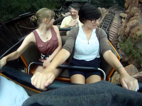 GoPro on Big Thunder Mountain Railroad with vomit!