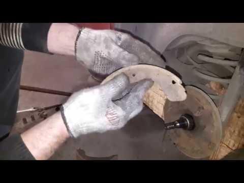 Ланос. Замена задних колодок, трос ручника, рабочих цилиндров, задних барабанов.