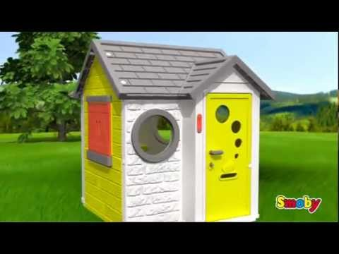 Beautiful Smoby My House Childrens Roleplay Playhouse Kids Garden Toys UK