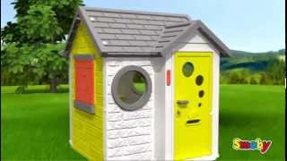 Smoby My House Childrens Roleplay Playhouse Kids Garden Toys Uk
