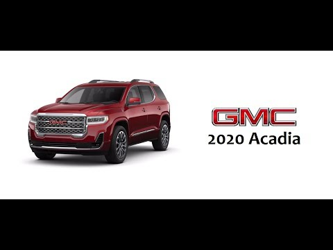 2020 GMC Acadia Specs,Prices,and Photos