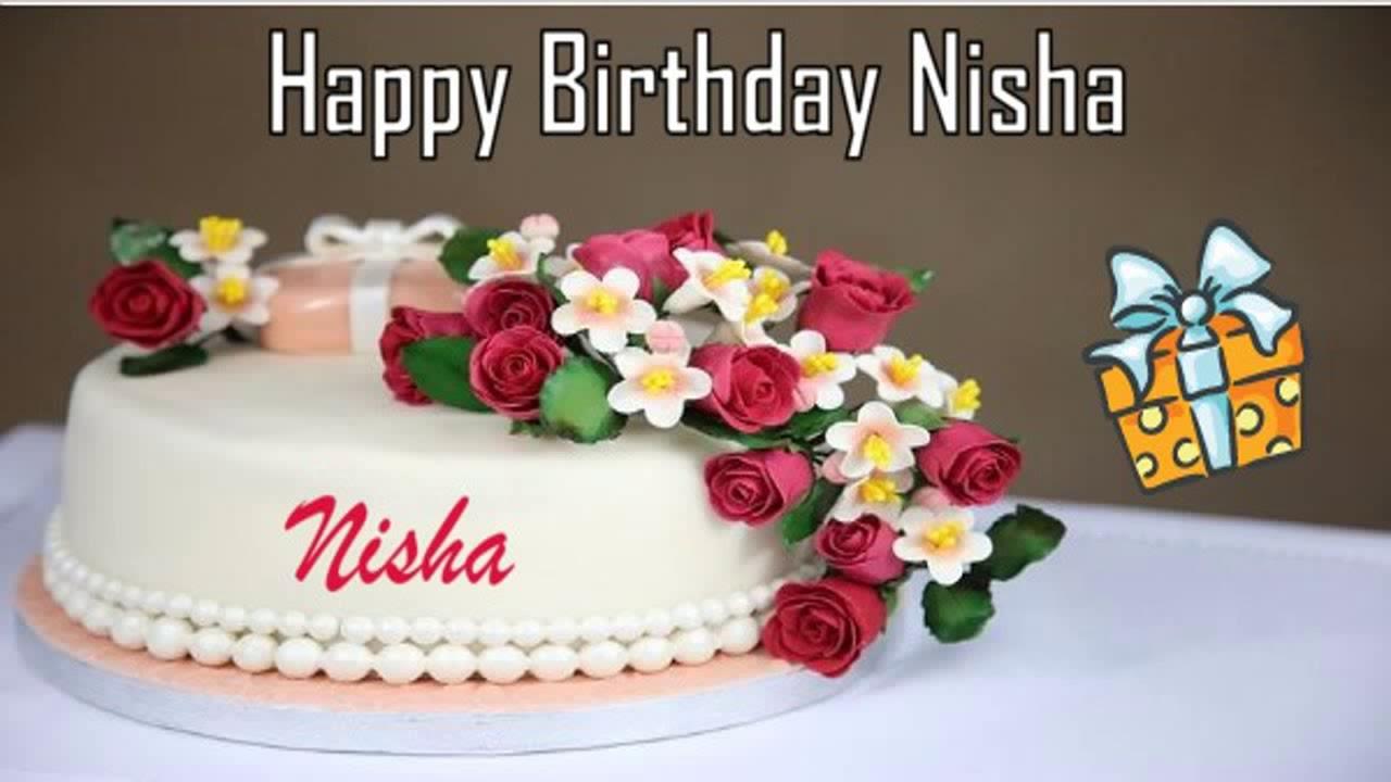 Happy Birthday Nisha Image Wishes Youtube