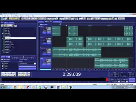 como crear un remix extended adobe audition 1 5 youtube. Black Bedroom Furniture Sets. Home Design Ideas