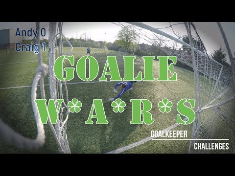 Goalkeeper Challenges - GOALIE WARS!! #1