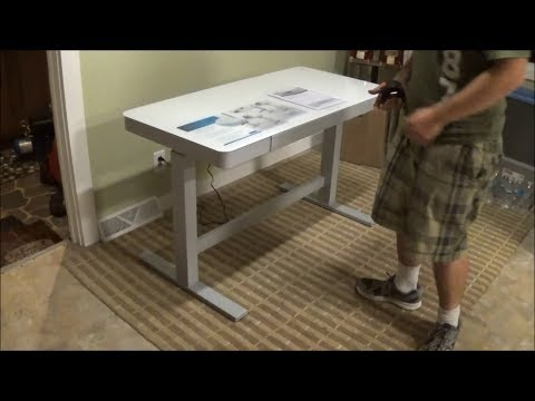 Tresanti Adjustable Height Motorized Standing Desk CostCo SKU: 1074719