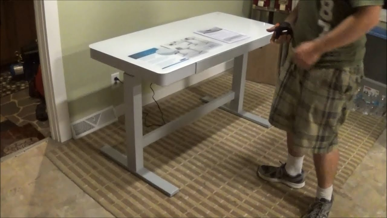 Tresanti Adjustable Height Motorized Standing Desk CostCo SKU
