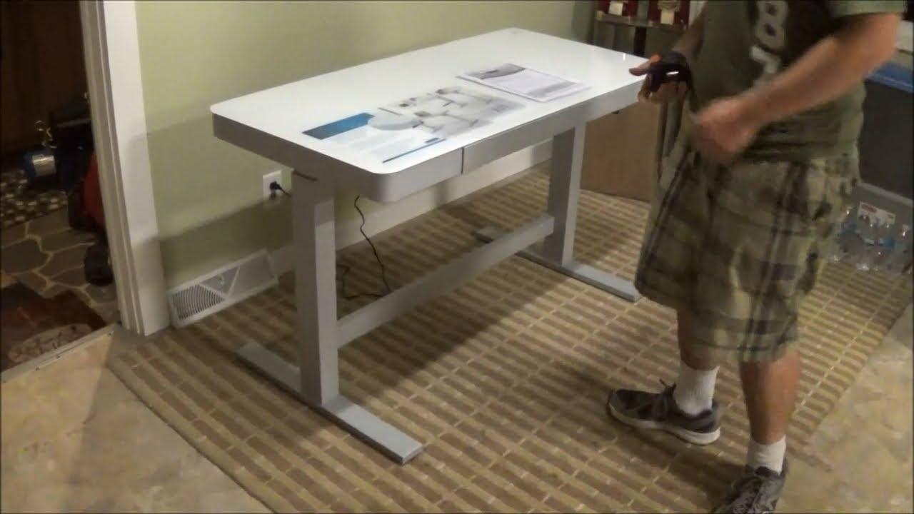 Tresanti Adjustable Height Motorized Standing Desk CostCo