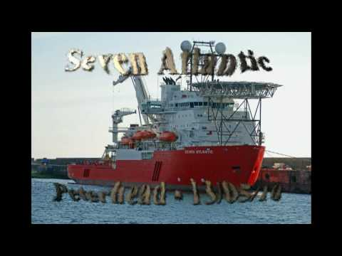 Seven Atlantic at North Base, Port of Peterhead, Scotland