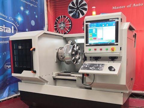 DIamond Cutting Alloy Wheel Repair Machine WRM28H