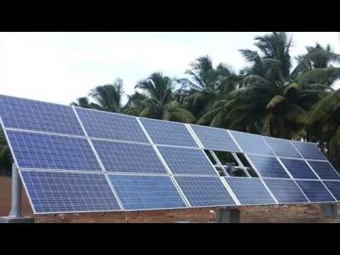 Solar Water Pumping with Solar Tracking System by UNIK Power