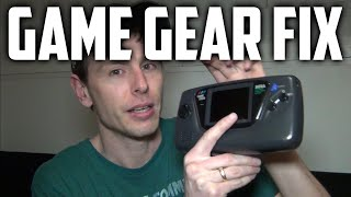Fixing a Sega Game Gear (Screen, Sound and Power)