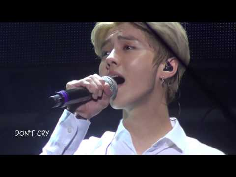 [Feng] 140817 Nanjing Music Festival - Baby don't cry (Luhan focus)