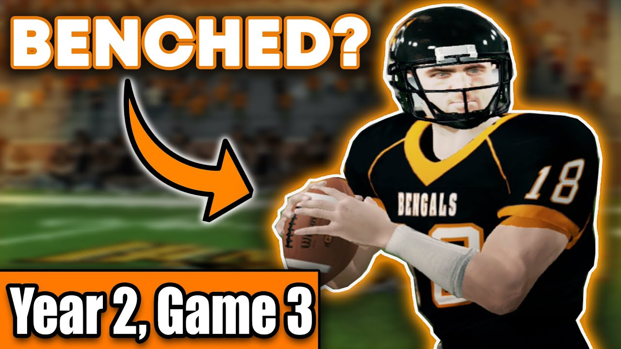 BACKUP QB Already BENCHED?! | Buffalo State College Bengals NCAA Football 14 Dynasty S2G3 [Ep18]