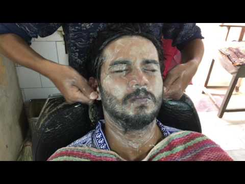 Young Indian Barber- Perfect Upper Body Massage Part-2| 4K