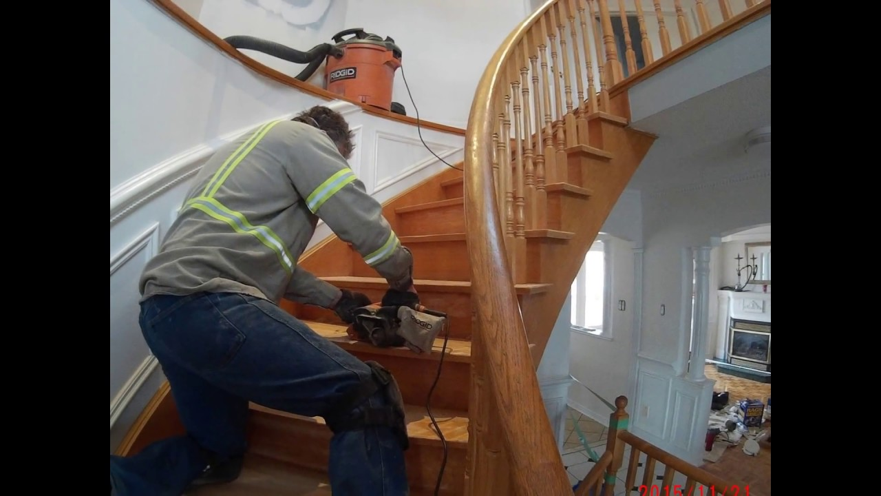 Refinish Banister Without Sanding