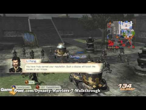 Dynasty Warriors 7 Walkthrough - PT 8 - Jin - Battle of Hefei Castle