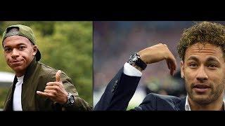 Quelles Montres de Luxe portent les plus grands Footballeurs du Monde ?