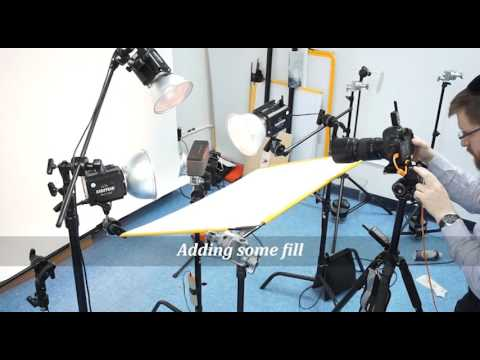 In The Studio With Avrohom Perl Photography - BTS Timelaps
