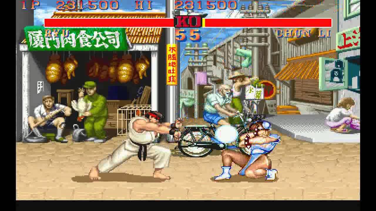 Street Fighter 2 Champion Edition Ryu Vs Chun Li Youtube