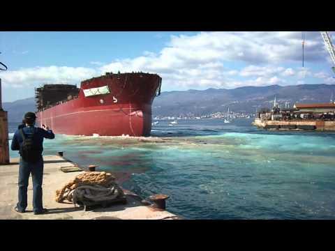 Asphalt Tanker Ship Launch 3.Maj 13-03-2012