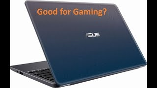 Asus VivoBook E203M Gaming experience - Minecraft/roblox/Half Life 2