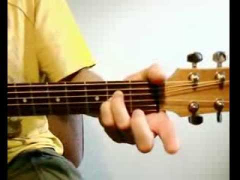 Fade Into You Mazzy Star Acoustic Guitar Tutorial 2009 Youtube