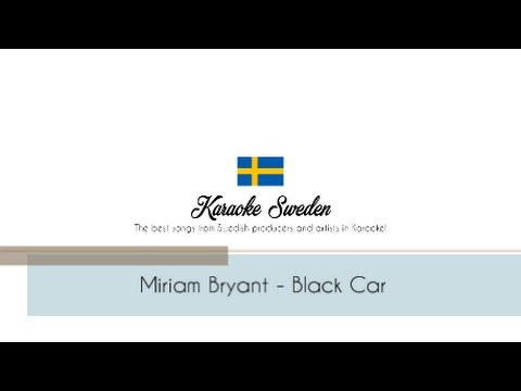 Miriam Bryant - Black Car [Karaoke Backing Track]
