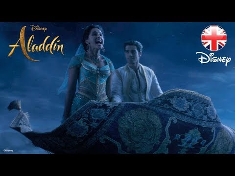 ALADDIN  A Whole New World Song Clip - Part 2   Disney UK