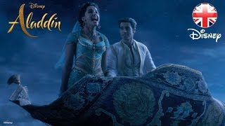 ALADDIN | A Whole New World Song Clip - Part 2! | Official Disney UK
