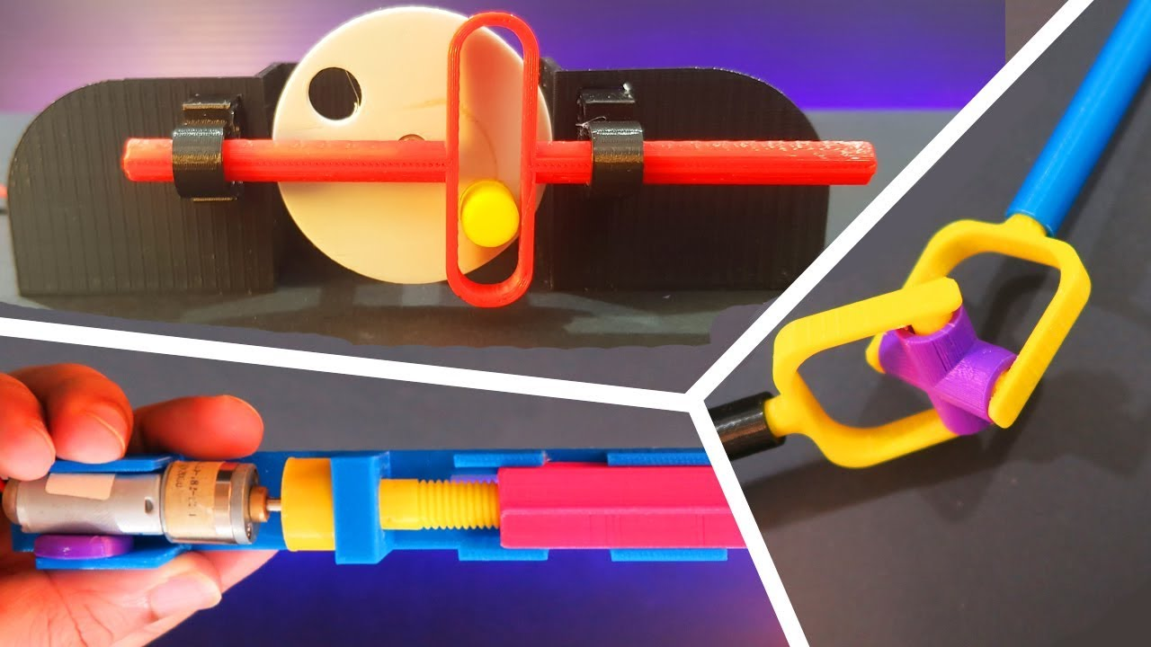 3 awesome 3D Printed Things - Creative Ideas