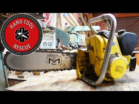 1962 McCulloch MAC 15 80cc Chainsaw [Rescue]