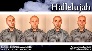 Download Hallelujah (Leonard Cohen) - A cappella Quartet (TTBB)